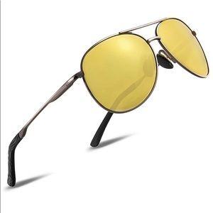 Polarized Sunglasses Aviator Sunglasses for Men